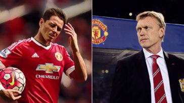chicharito moyes manchester united