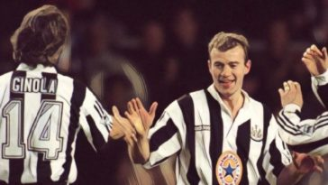 Alan Shearer David Ginola Newcastle United Premier League