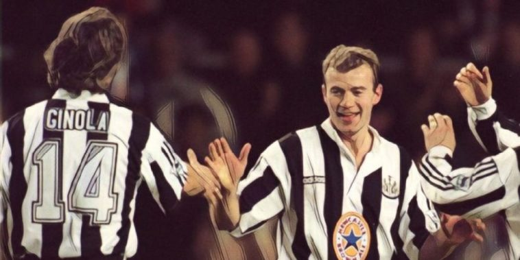 Alan Shearer David Ginola Newcastle United Premier League