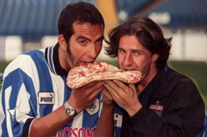 di canio carbone pizza sheffield wednesday