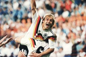 Jurgen Klinsmann West Germany 1990