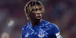 Everton's Moise Kean