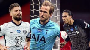 premier league weekly awards giroud kane van dijk