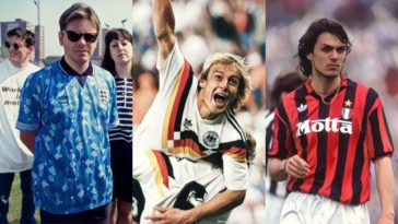 most iconic football jerseys of the 90's