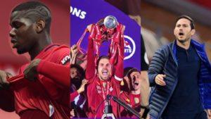 premier league weekly awards gw37 lampard liverpool pogba sterling