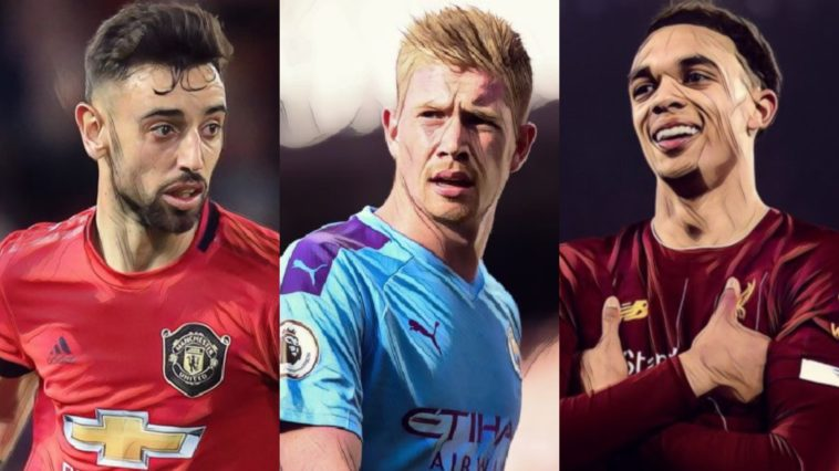 Premier League end of season awards for 2019/20 de bruyne alexander-arnold fernandes pulisic
