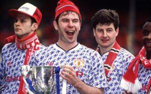 Brian McClair Manchester United League Cup 1992