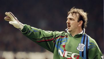 Neville Southall Everton goalkeeper 90's football
