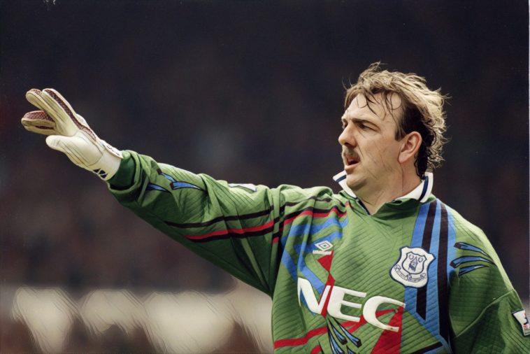 Neville Southall Everton goalkeeper 90's football