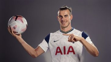 Gareth Bale Spurs Premier League