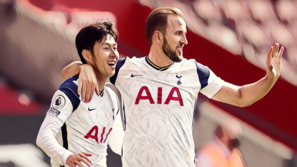 harry kane heung-min son spurs premier league