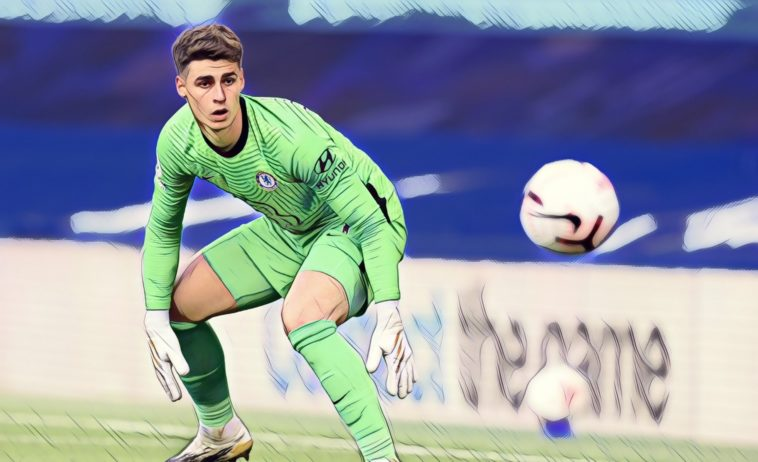 kepa chelsea premier league