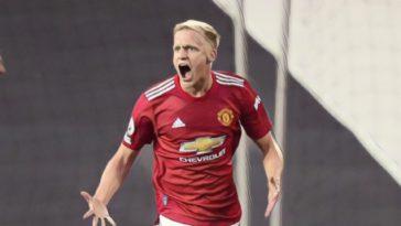 donny van de beek manchester united premier league