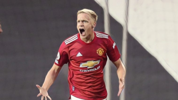 donny van de beek manchester united premier league