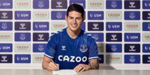 James Rodriguez Everton