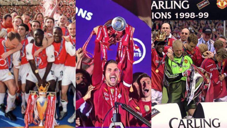 most top six finishes english top flight premier league arsenal liverpool man united everton aston villa spurs