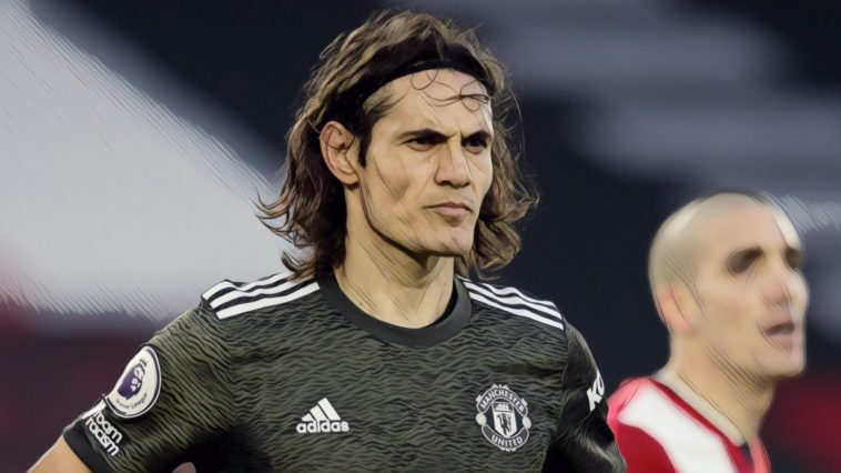 edinson cavani manchester united premier league