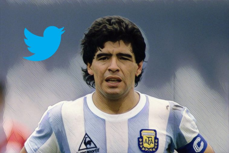 best football tweets diego maradona dele alli thomas muller