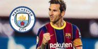 Man City Lionel Messi transfer Premier League Barcelona