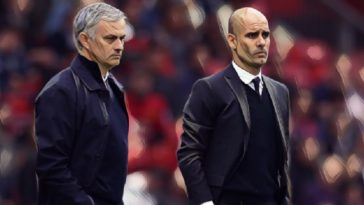 Tweets Jose Mourinho Pep Guardiola