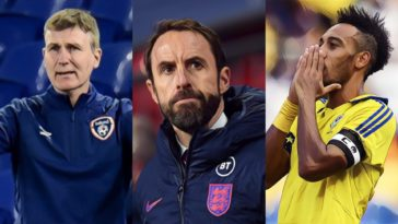 international break disaster coronavirus southgate stephen kenny aubameyang euro 2020 nations league