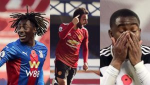 premier league weekly awards bruno fernandes eze lookman penalty