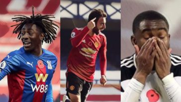 premier league weekly awards bruno fernandes eze lookman penalty