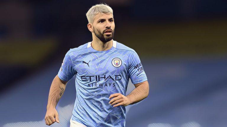 Sergio Aguero Man City Premier League