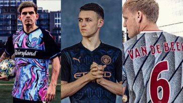 best football kits 2020 man city arsenal roma nigeria italy ajax