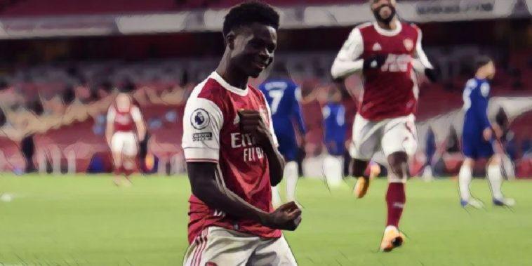 bukayo saka arsenal premier league