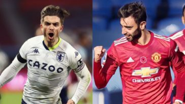 Five Premier League players 'too big' for their club bruno fernandes jack grealish manchester united