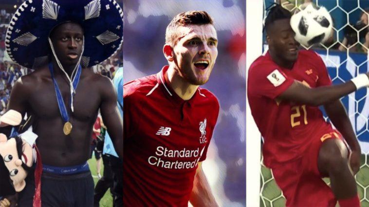 Best footballers on twitter robertson mendy batshuayi