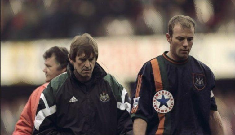 Newcastle United Kenny Dalglish Kevin Keegan 90's