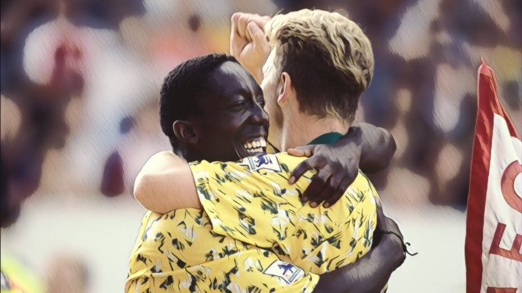 Norwich City 1992-93 Premier League Sutton Ruel Fox Robins