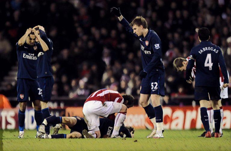 Stoke Arsenal Rivalry Premier League