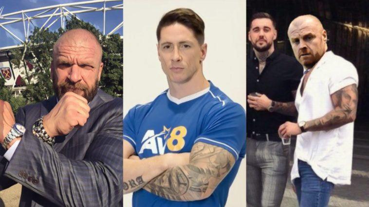 Tweets Torres Dyche memes Triple H West Ham