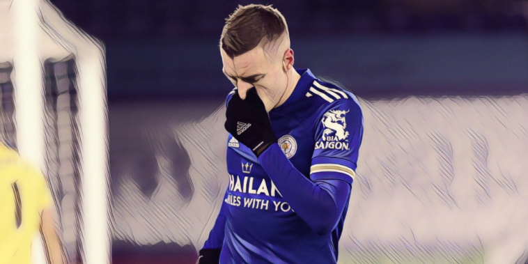 jamie vardy leicester city premier league