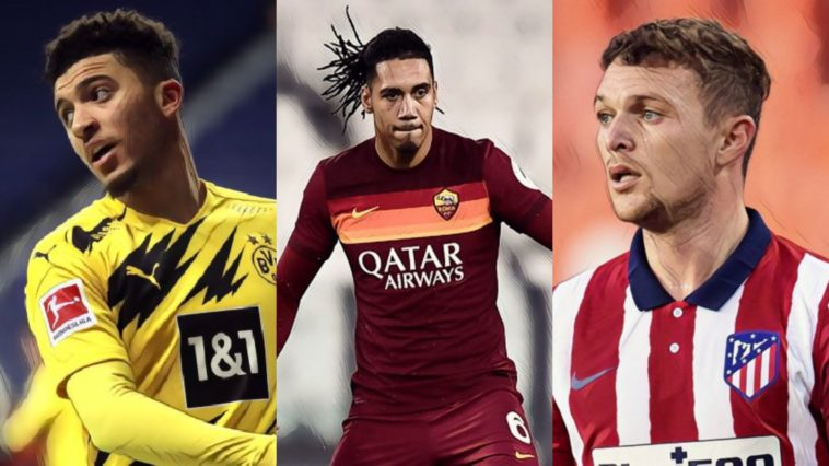 best english footballers abroad sancho trippier smalling