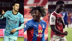 best young players premier league so far this season