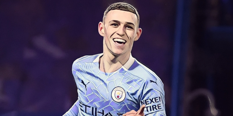 manchester city star and academy graduate, phil foden
