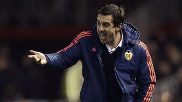 Gary Neville Valencia