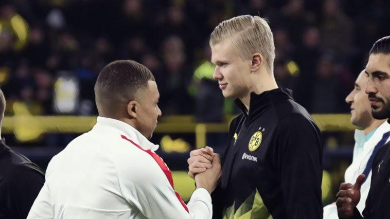mbappe vs haaland football rivalry