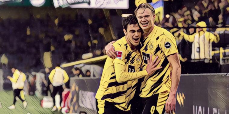 Haaland Reyna Borussia Dortmund