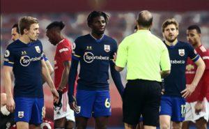 Jankewitz Southampton red card