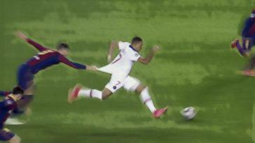 Kylian Mbappé Pique PSG Barcelona