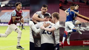 premier league stats everton liverpool man city arsenal west ham spurs