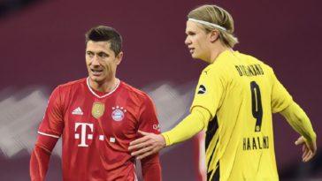 Lewandowski Haaland Bayern Dortmund Der Klasskier