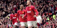 Wayne Rooney scores a hat-trick in the famous 8-2 win over Arsenal in 2011