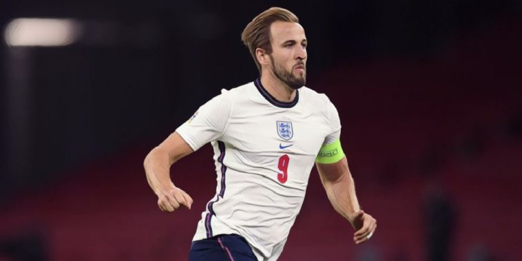 harry kane in action for england