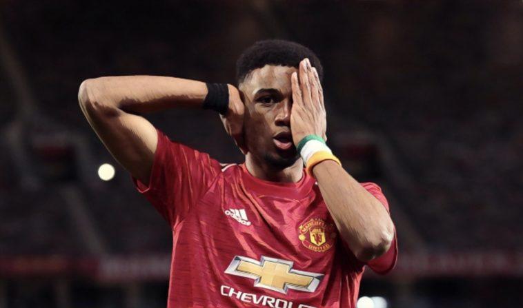 Amad Diallo Manchester United